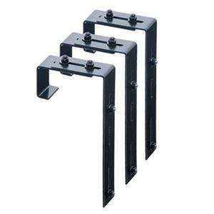 Mayne Adjustable Deck Rail Bracket 3-pack