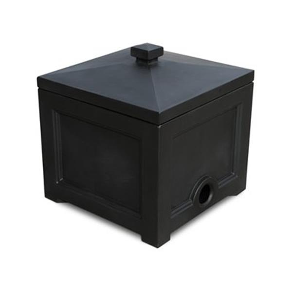 Mayne Fairfield Garden Hose Bin - Black
