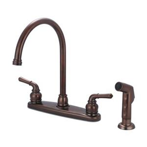 Olympia Faucet ACCENT Oil-Rubbed Bronze Kitchen Faucet with Sprayer