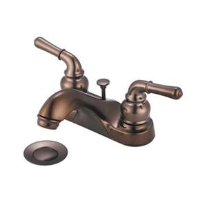 Olympia Faucet 1.75-in Oiled Rubbed Bronze Bathroom Sink Faucet