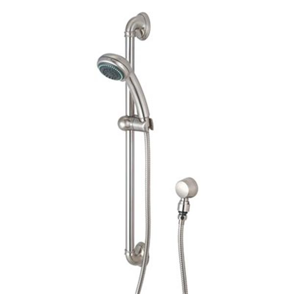 Olympia Faucet ELITE PVD Brushed Nickel Faucet Handshower Set