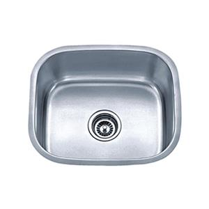 Acri-tec Industries 20.75-in x 17.75-in x 9-in Stainless Steel Undermount Round Corner Kitchen Sink