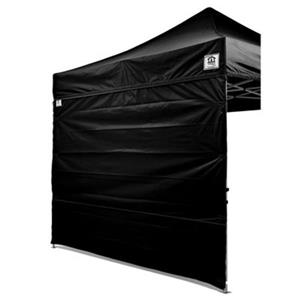 Impact Canopies Canada 10-ft x 10-ft Black Full Sidewall Canopy Kit