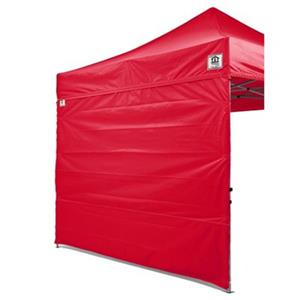 Impact Canopies Canada 10-ft x 10-ft Red Full Sidewall Canopy Kit