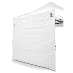 Impact Canopies Canada 10-ft x 10-ft White Full Sidewall Canopy Kit