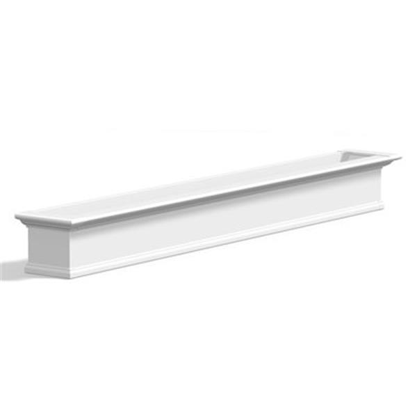 Mayne Yorkshire 8-ft White Window Box Plan