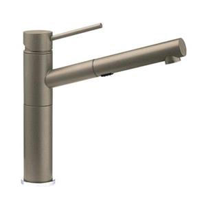 BLANCO Alta Dual Spray Silgranit Brown Kitchen Faucet