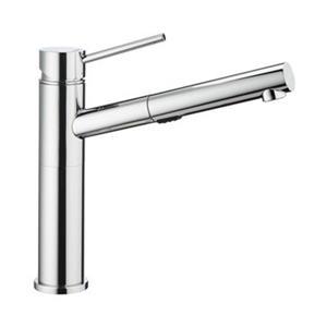 Blanco Alta Dual Spray Chrome Kitchen Faucet
