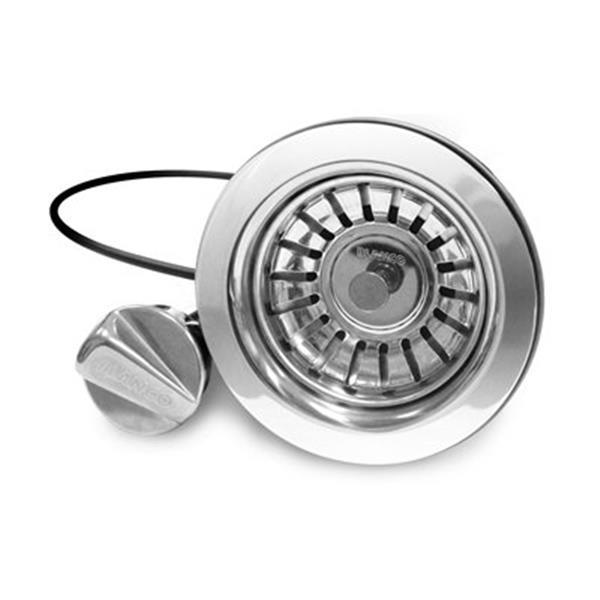 Blanco 3.5-in Pop-Up Strainer with Round Button