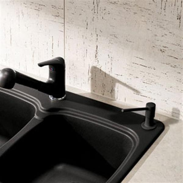 Blanco SOP Torre 4-in Anthracite Single Hole Soap Dispenser
