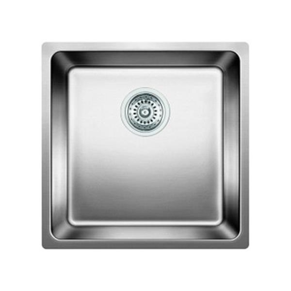 Blanco Andano 17.7-in x 17.7-in Stainlkess Steel Kitchen Sink
