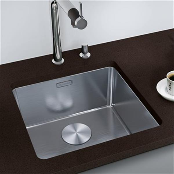 Blanco Andano 21.2-in x 17.7-in Stainless Steel Kitchen Sink