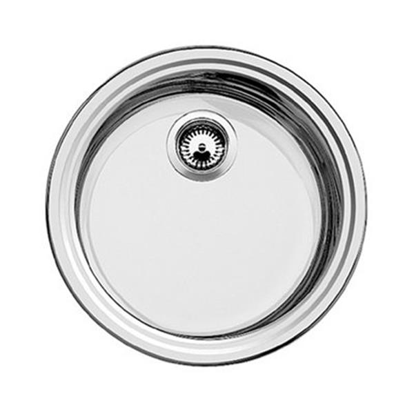 Blanco Rondo 18-in x 18-in x 6.50-in Stainless Steel Single Bowl Kitchen Sink