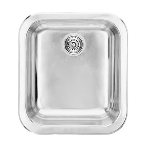 Blanco Lincoln 14-in x 15.5-in Stainless Steel Single Bowl Kitchen Sink