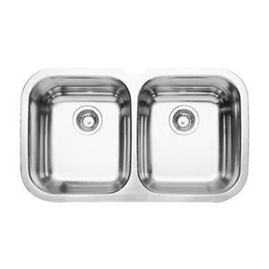 Blanco Niagara Double Bowl Undermount Kitchen Sink