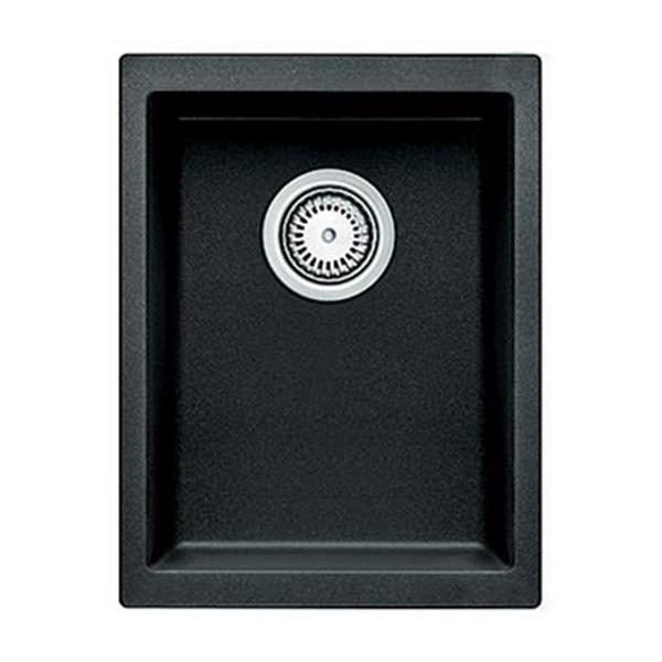 BLANCO Precis 13.75-in x 18-in Anthracite Silgranit Undermount Sink