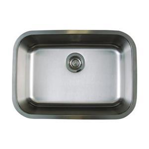 Blanco Stellar 18-in x 28-in Stainless Steel Single Bowl Undermount Sink