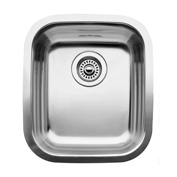 Blanco Supreme 15.5-in x 17.75-in Stainless Steel Single Bowl Undermount Sink