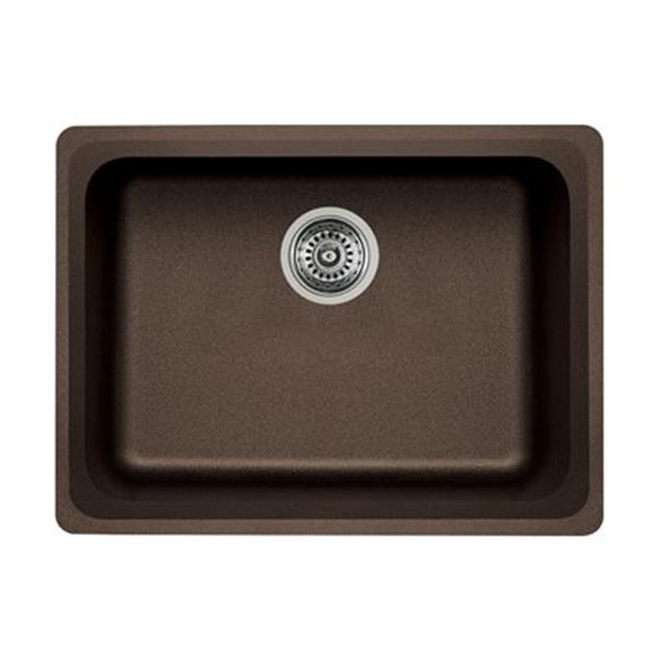 Blanco Vision Silgranit Cafe 18-in x 24-in Undermount Sink