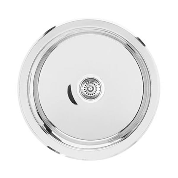 Blanco Winchester Steel 15 In Round Single Bowl Undermount Sink 400780 Rona