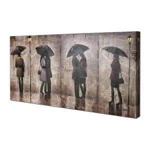 ArtMaison Canada Midnight Stroll 24-in x 48-in Canvas Art
