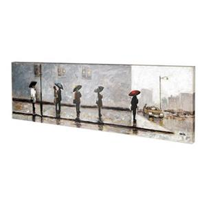 ArtMaison Canada Waiting For A Cab II 20-in x 60-in Canvas Art