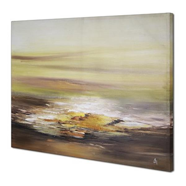 ArtMaison Canada Sunrise Abstract 30-in x 40-in Canvas Art