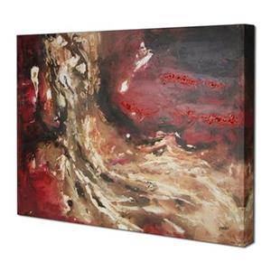 ArtMaison Canada Red Abstract I 30-in x 40-in Canvas Art