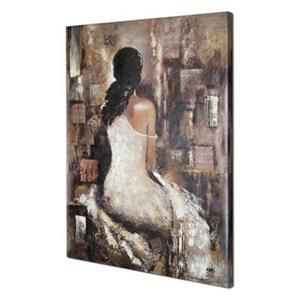 ArtMaison Canada Waiting II 40-in x 30-in Canvas Art