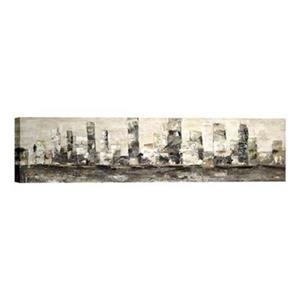 ArtMaison Canada City Skyline 18-in x 76-in Canvas Art