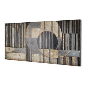 ArtMaison Canada Abstract Sections 30-in x 60-in Canvas Art