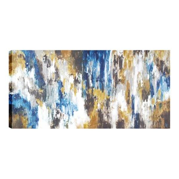 ArtMaison Canada Abstract Vibration 30-in x 60-in Canvas Art