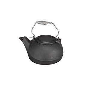 Pleasant Hearth Kettle Steamer - Cast Iron - Black