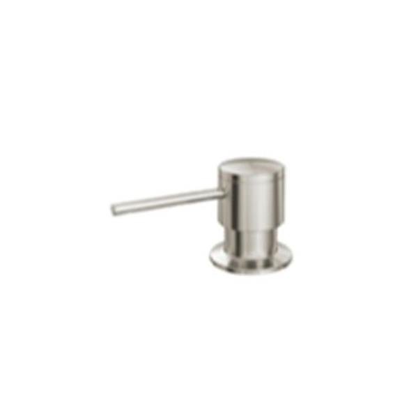 Blanco Sonoma 3.75-in Polished Steel Soap Dispenser