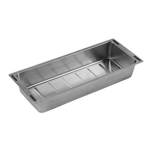 Blanco Precis 17.25-in x 7-in Stainless Steel Drainboard Colander