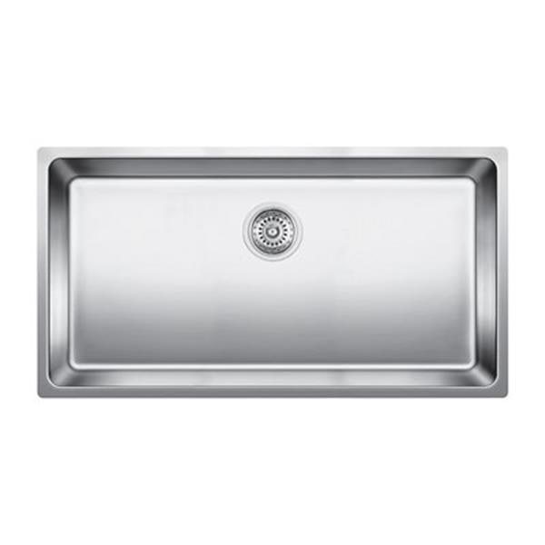 Blanco Andano Steel 17.75-in x 25.25-in Single Basin Sink