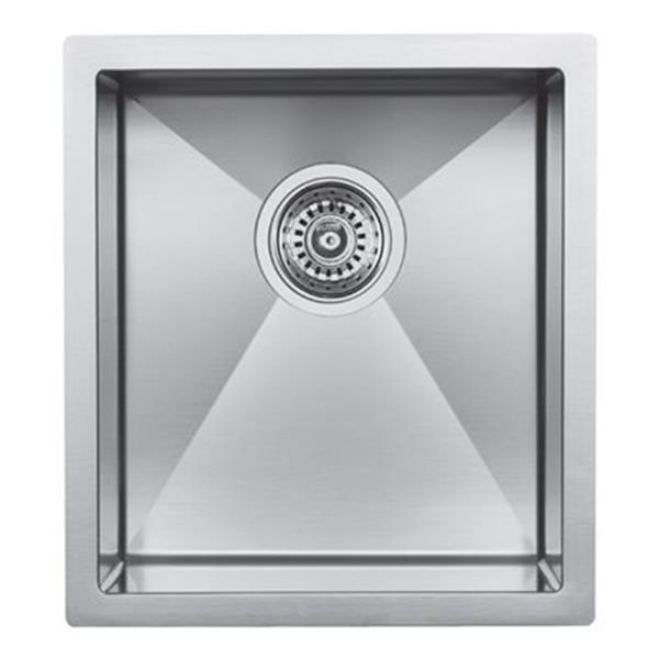 Blanco Precision Steelart 15-in x 18-in Kitchen Sink