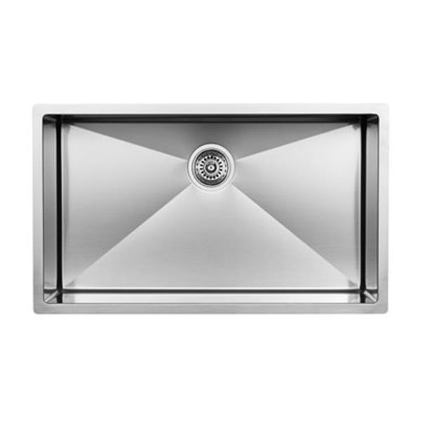 Blanco Super Steelart 18-in x 32-in Single Basin Sink