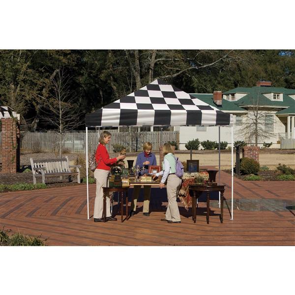 ShelterLogic Pop-Up Canopy HD® Straight Leg - 10-ft x 10-ft - Checkered