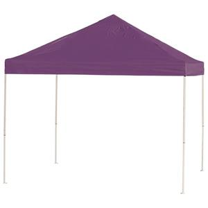 ShelterLogic HD Series 10-ft x 10-ft Purple Square Straight Leg Pop-Up Canopy
