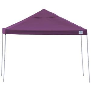 ShelterLogic Pop-Up Canopy HD® Straight Leg - 12-ft x 12-ft - Purple