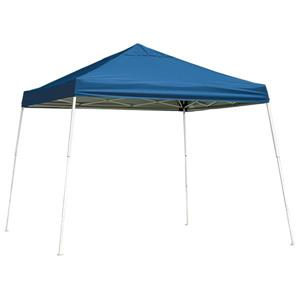 ShelterLogic HD Series 12-ft x 12-ft Blue Square Slant Leg Pop-Up Canopy