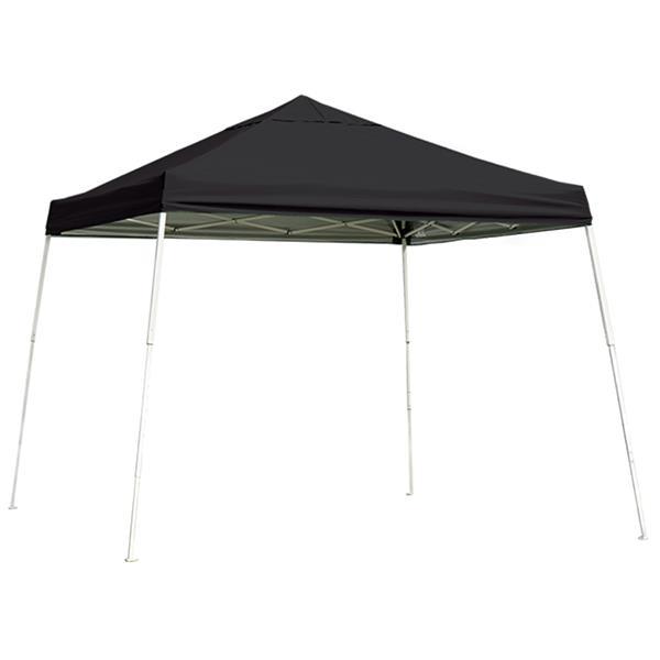 ShelterLogic Pop-Up Canopy HD® Slant Leg - 12-ft x 12-ft - Black
