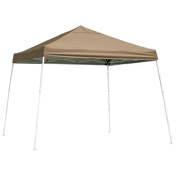 ShelterLogic Pop-Up Canopy HD® Slant Leg - 12-ft x 12-ft - Bronze