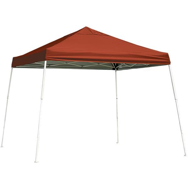 ShelterLogic Pop-Up Canopy HD® Slant Leg - 10-ft x 10-ft - Red