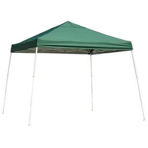 ShelterLogic Pop-Up Canopy HD® Slant Leg - 10-ft x 10-ft - Green