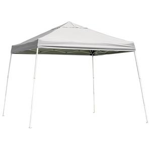 ShelterLogic Pop-Up Canopy HD® Slant Leg - 10-ft x 10-ft - White