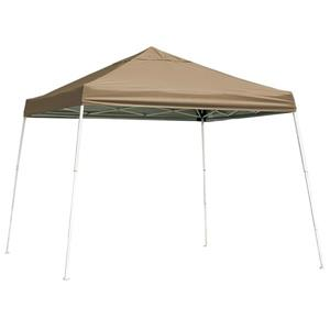 ShelterLogic Pop-Up Canopy HD® Slant Leg - 10-ft x 10-ft - Bronze