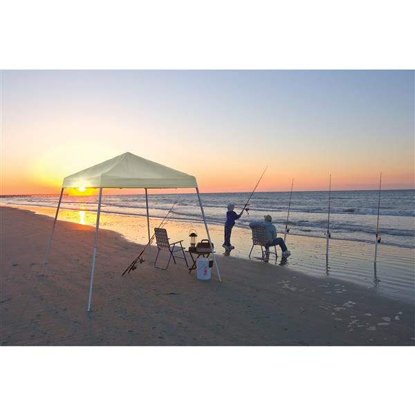 ShelterLogic Pop-Up Canopy HD® Slant Leg - 8-ft x 8-ft - White