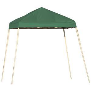 ShelterLogic Pop-Up Canopy HD® Slant Leg - 8-ft x 8-ft - Green